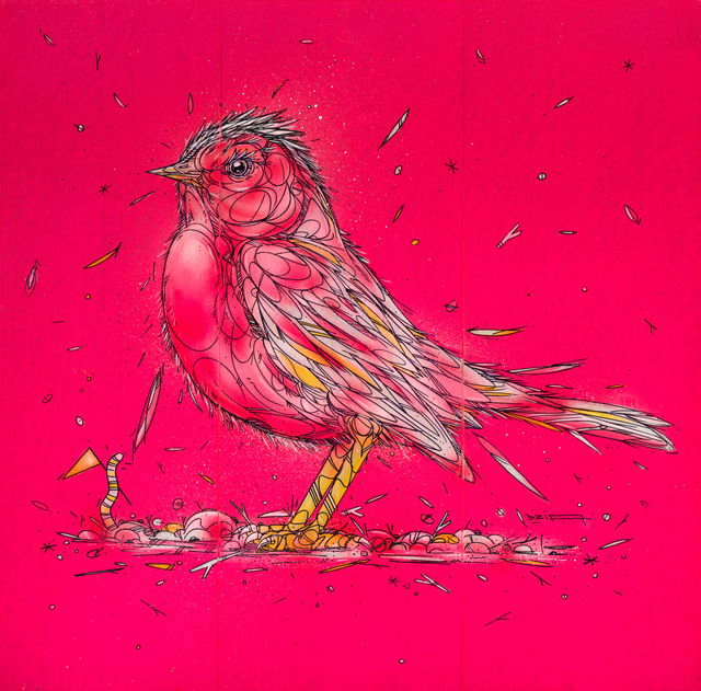 , 'Pink Bird ,' 2018, GCA Gallery
