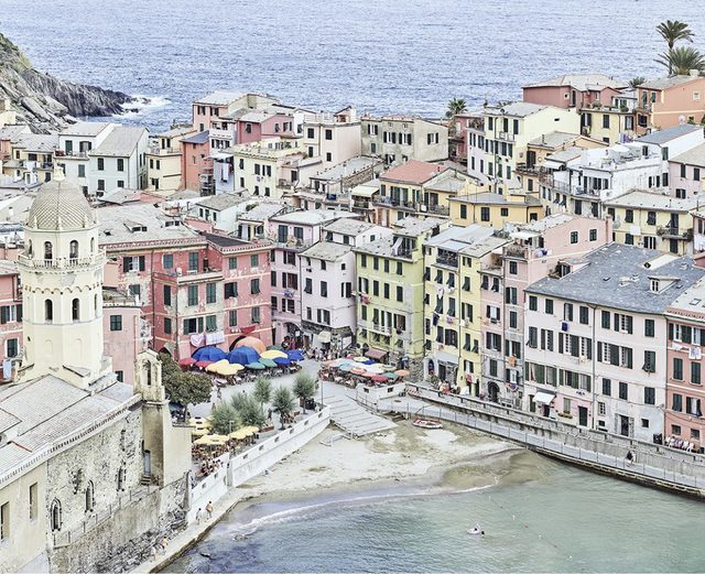 David Burdeny, 'Vernazza Harbour, Cinque Terre, Italy', 2018, CHROMA GALLERY