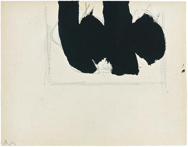 Robert Motherwell, 'Open with Elegy', 1968, Gagosian