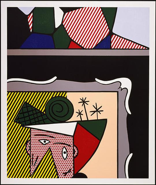 Roy Lichtenstein, 'Two Paintings,' 1984, Senior & Shopmaker Gallery