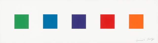 Ellsworth Kelly, 'Color Squares 1', 2011, Gemini G.E.L. at Joni Moisant Weyl
