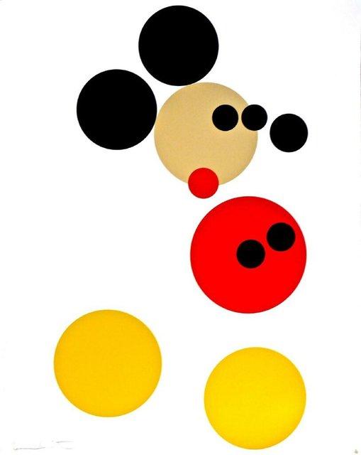 Damien Hirst, 'Mickey ', 2012, Pop Fine Art