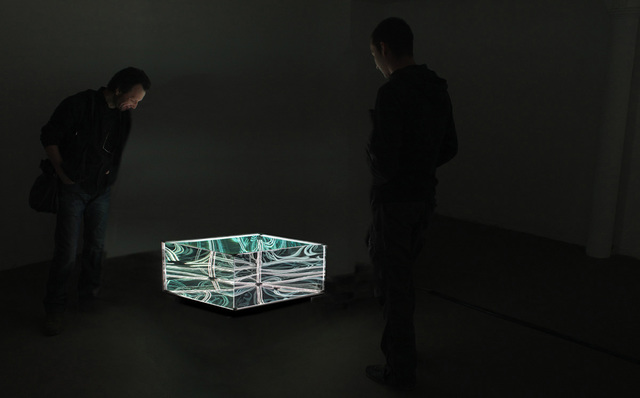 , 'N-Light Objects, Membrane Sculpture Table,' 2015, Muriel Guépin Gallery