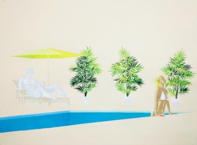 , 'Dionysus Poolside,' , Sara Nightingale Gallery