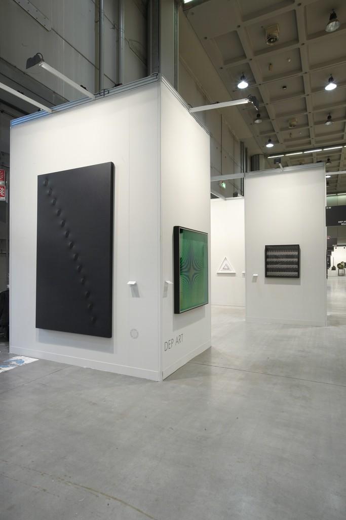 Mi Art 2016. Turi Simeti - Alberto Biasi - Ludwig Wilding