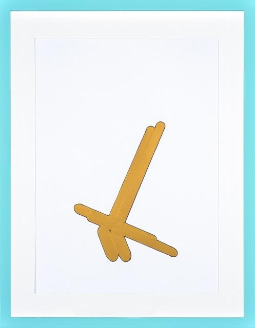 , 'Senza Titolo (sovrapposizione) 1,' 2013, Galerie Antoine Ertaskiran
