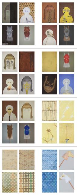 , 'Hommage to Ibn Rushd (Avveroes),' 2014, Mark Hachem Gallery