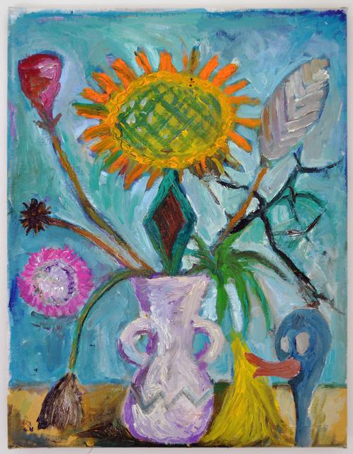 , 'Untitled: Veiled Subversion (Of What?) in Still Life Paintings - Cartoon Version,' 2013, Marie Kirkegaard Gallery