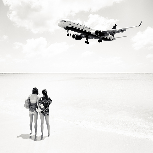 , 'Jet Airliner #23, US Airways Boeing 757-200, St. Maarten,' 2010, Local