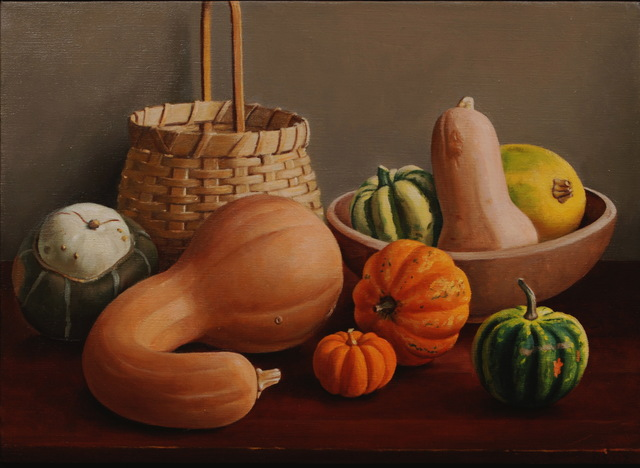 , 'Squash in a Basket,' , Zenith Gallery