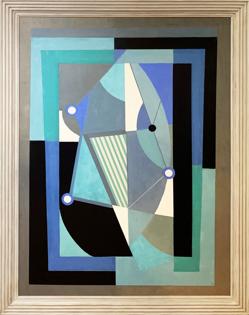 Tim Woolcock, 'Blue and Turquoise Trinity', 2019, Ransom Art