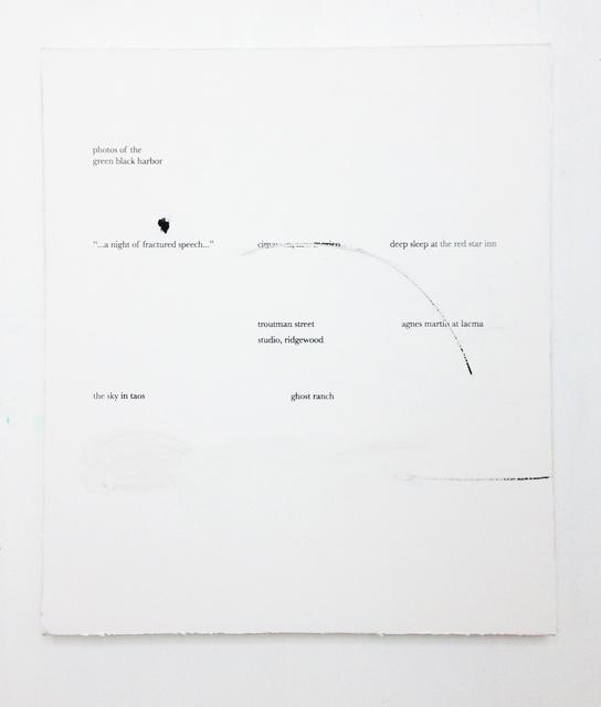 , 'Cimarron,' 2017, Rhona Hoffman Gallery