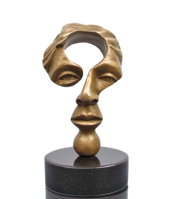 Michael Alfano, 'Questioning Mind', 2004, Sculpture, Bronze, Steidel Contemporary