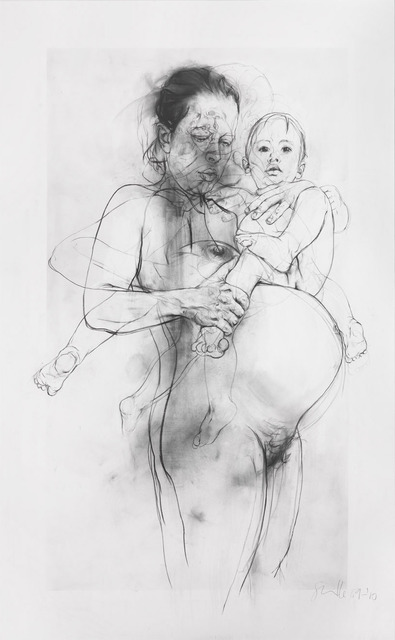 , 'Reproduction drawing II (after the Leonardo cartoon),' 2009-2010, Gagosian Gallery