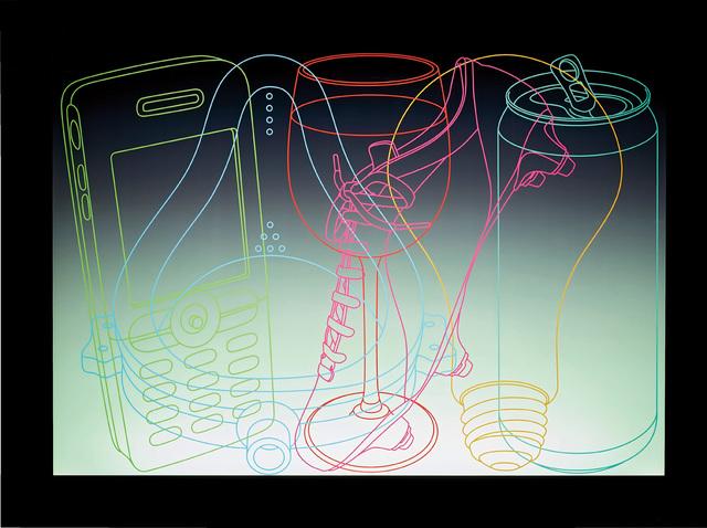 Michael Craig-Martin, 'Signs of Life', 2006, Phillips