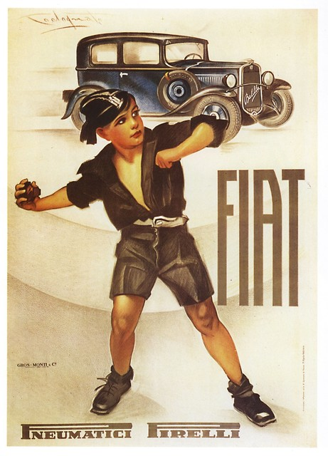 Plinio Codognato, 'FIAT 508', ca 1932, Cambi