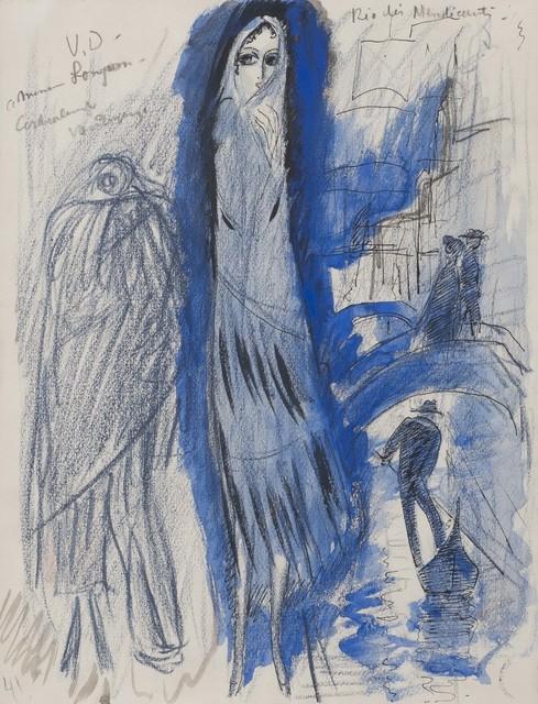 , 'Etude pour 'Rio des Mendiant',' 1921, Connaught Brown