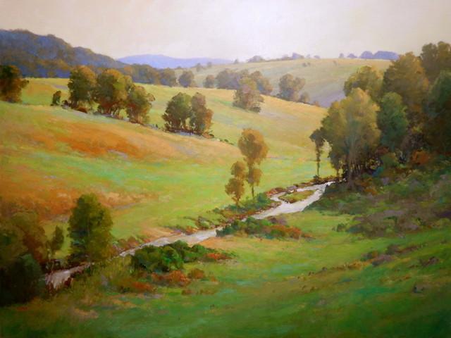 , 'Virginia's Piedmont,' 2017, Susan Calloway Fine Arts