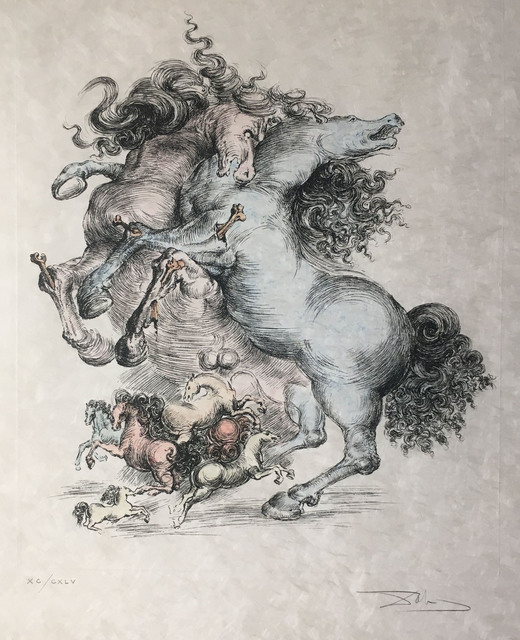 Salvador Dalí, 'Les Chevaux Surrealistes (Surrealist Horses)', 1975, Baterbys