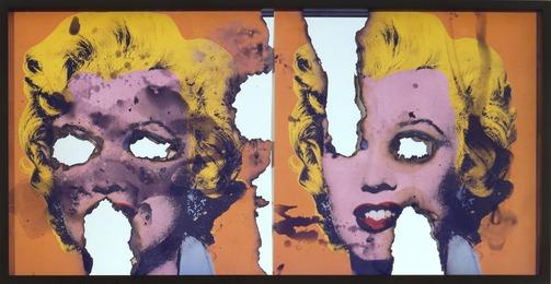 Douglas Gordon, 'Self-Portrait of You + Me (Orange Marilyns),' 2007, Gagosian