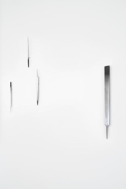 Serena Fineschi, 'Malelingue (Caption Series)', 2020, Sculpture, Old files, Palazzo Monti