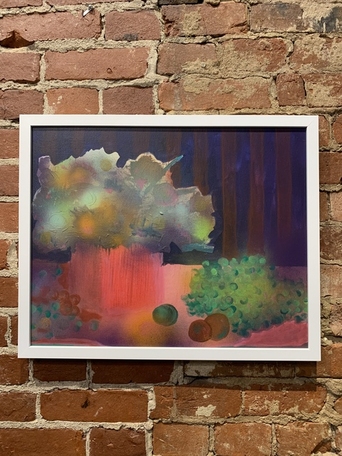 Jonathan Hittner, 'Still Life with Flower and Grapes', 2019, Mason-Nordgauer Fine Arts Gallery