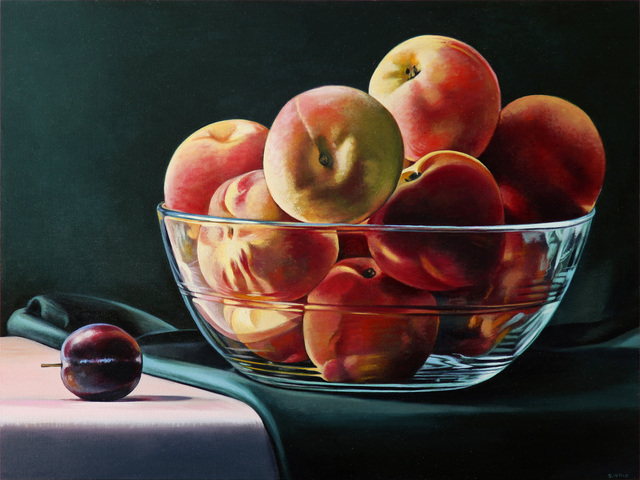 , 'Plum and Peaches,' 2018, Russo Lee Gallery