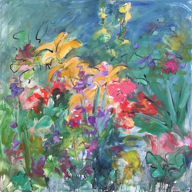 Mary Page Evans, 'Summer Gardens', 2017, Somerville Manning Gallery