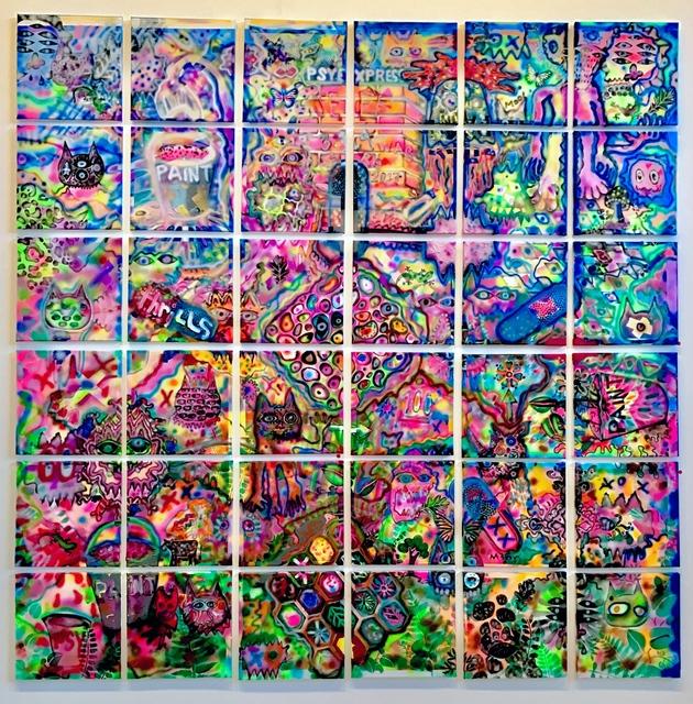 , 'Collective Consciousness,' 2016-2017, Ro2 Art