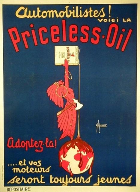 , 'PRINCELESS OIL ,' 1925, Galleria Alfieri