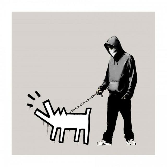 Banksy, 'Choose Your Weapon (Warm Grey / Queue Jumper Grey) (Signed)', 2010, Prescription Art