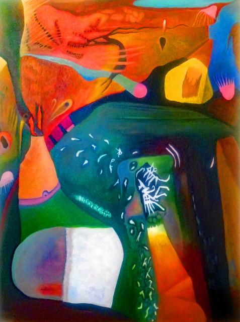 Robert Zurer, 'In a Silent Way', 2018, Painting, Oil on canvas, InLiquid