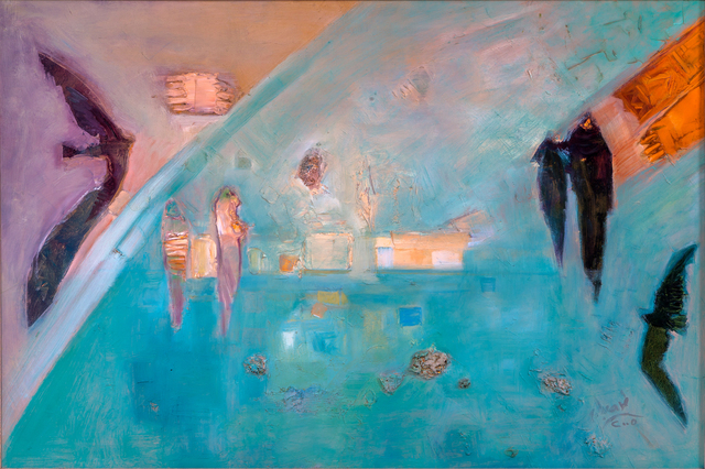 , 'Meeting ,' 2005, Hafez Gallery
