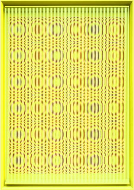 Alberto Biasi, 'Yellow rain', 2014, Dep Art Gallery