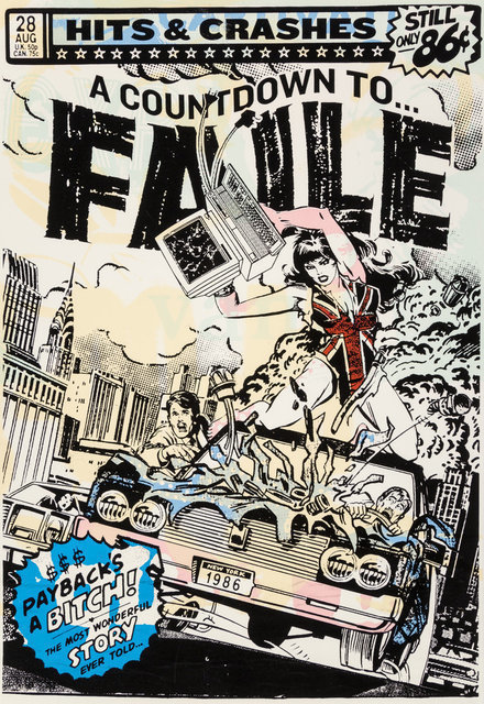 FAILE, 'Hits & Crashes (White) ', 2007, Jewel Goodby Contemporary