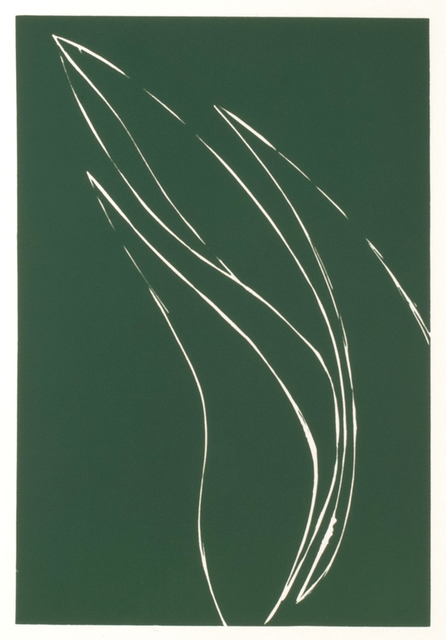 Donald Sultan, 'French Iris I', 1982, Thomas French Fine Art