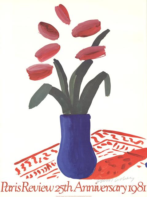 David Hockney, 'Paris Review 25th Anniversary', 1980, ArtWise