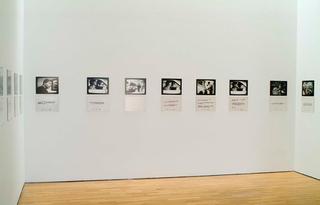 Dara Birnbaum, 'Lesson Plans (To Keep the Revolution Alive)', 1977, Installation, Set of 15 black and white photographs, with 15 matching sets of black and white text panels, Marian Goodman Gallery