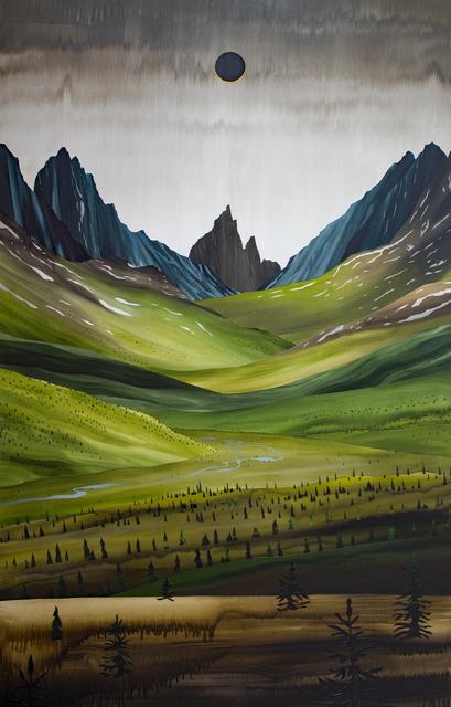 , 'The Midnight Sun ,' 2017, Peter Robertson Gallery