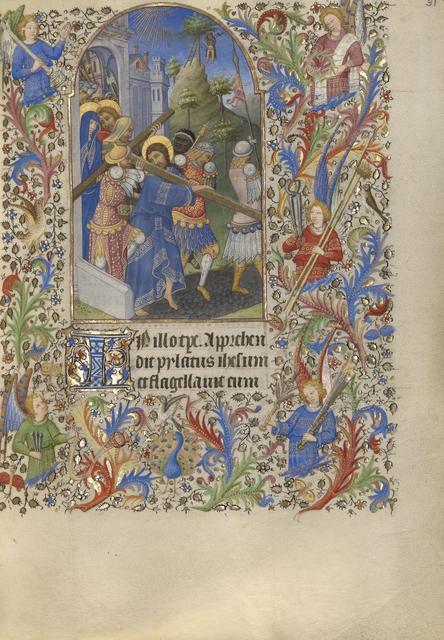 Spitz Master, 'The Way to Calvary', 1420, J. Paul Getty Museum