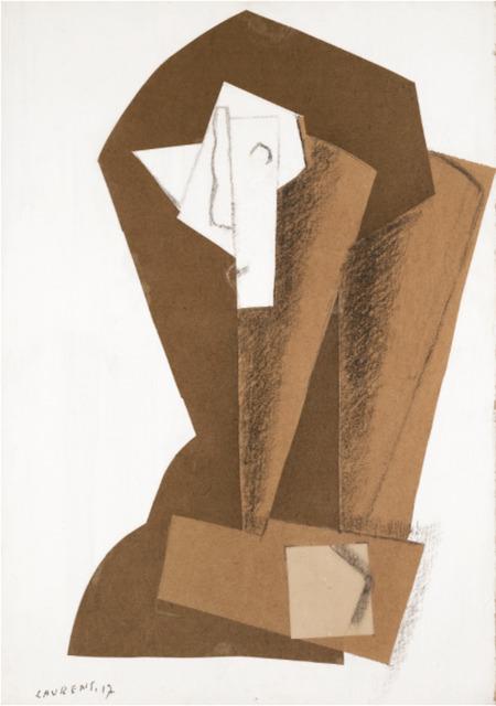 , 'Tête de femme,' 1917, BAILLY GALLERY