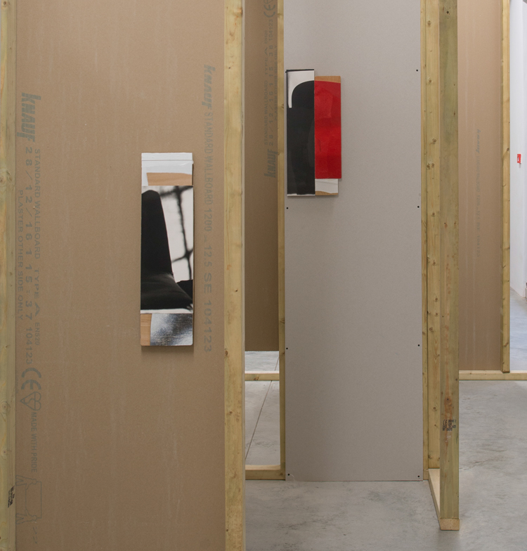 Installation view of 'Against Architecture at Matts Gallery, London, 2017. Ian McKeever will create a similar site-specific installation of works from Against Architecture, Eagduru and ...And the sky dreamt it was the sea, for Photo London 2017. Find us at booth #G7