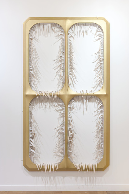 , 'Gilded Invitation,' 2016, galerie frank elbaz