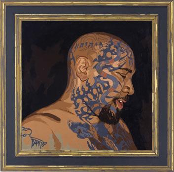 Matthew Benedict, 'Man with a Tatooed Head', 2007, Mai 36 Galerie