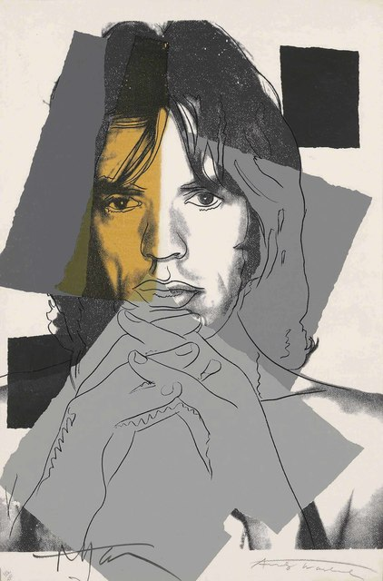 Andy Warhol, 'Mick Jagger', 1975, Print, Screenprint in colours on Arches Aquarelle paper, Christie's