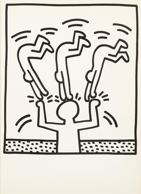 Keith Haring, 'untitled', 1983, Chiswick Auctions
