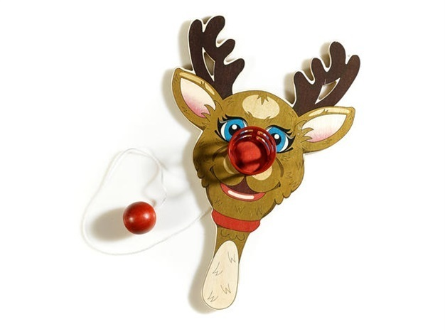 Jeff Koons, 'Rudolph the Red-Nosed Reindeer, Paddle Ball Game', 2000, Taglialatella Galleries