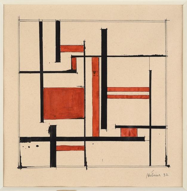 , 'Composition,' 1932, Galerie Zlotowski