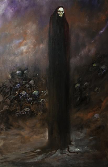 Jody Fallon, 'Around Midnight', 2018, Painting, Oil on masonite, IX Gallery