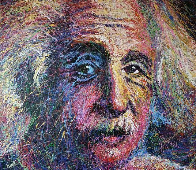 """, '""""Einstein"""",' 2018, Angela King Gallery"""